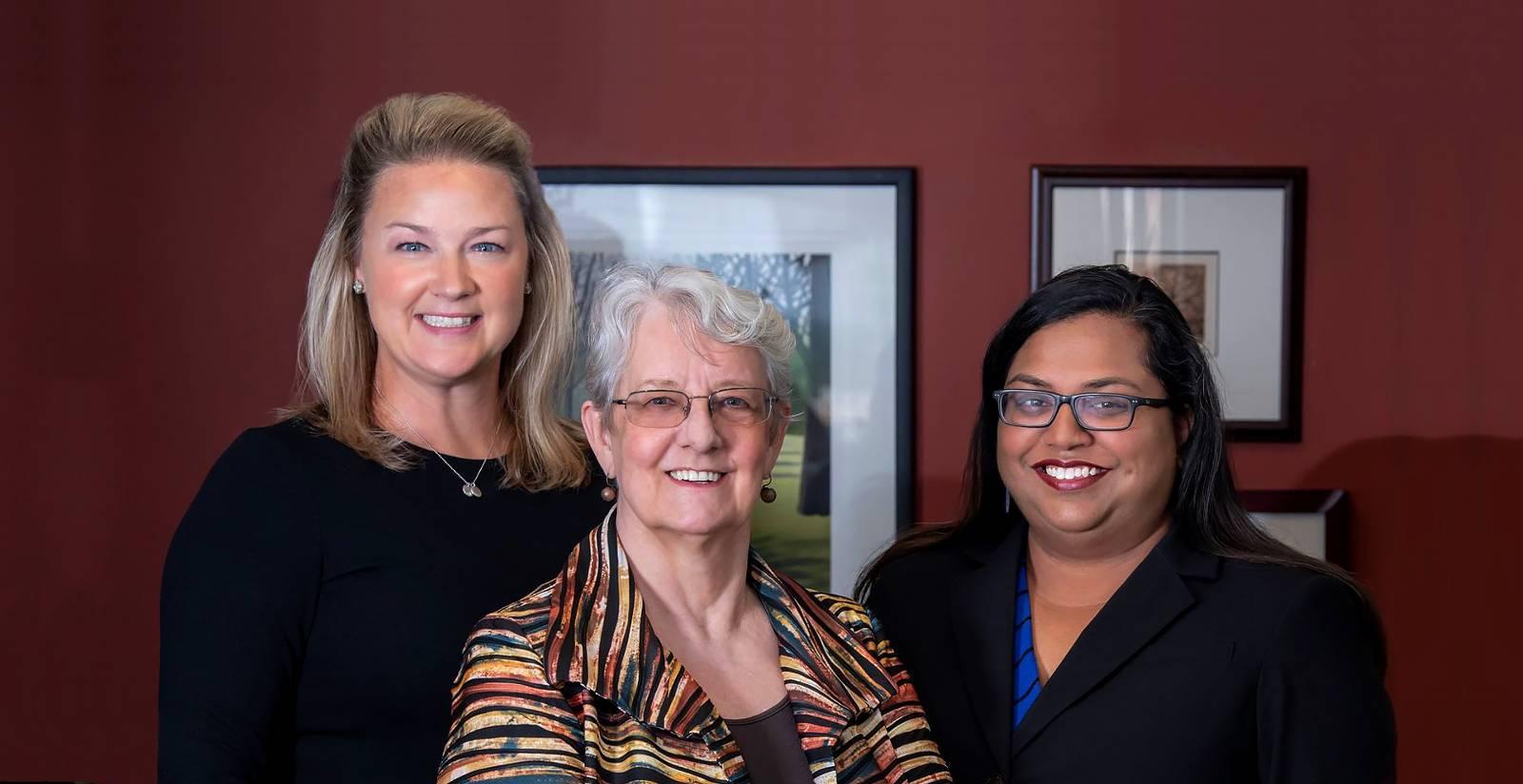 Brigitte Bell Evanston Family Law Attorney and team
